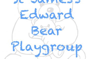 St James's Edward Bear Logo