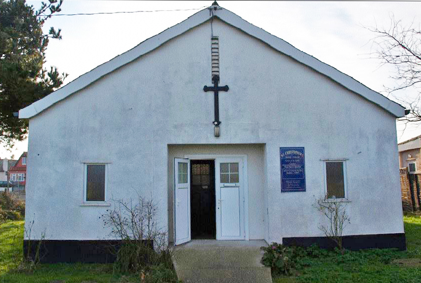 St Christopher's Jaywick, External