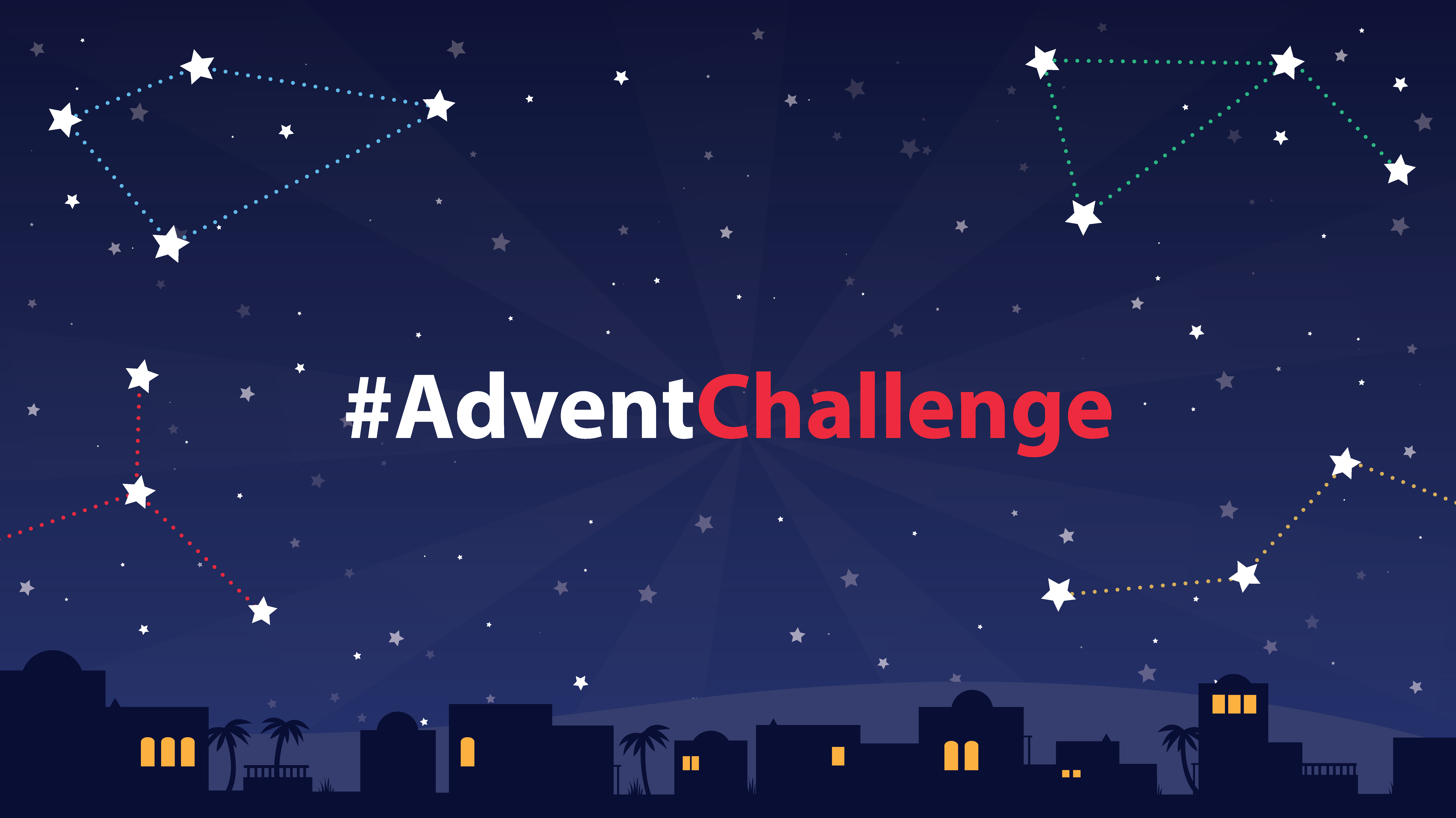 Bible Society Advent Challenge Logo