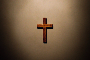 Cross on Wall