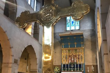 High Altar and Cross Only