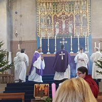 Advent Mass Scene